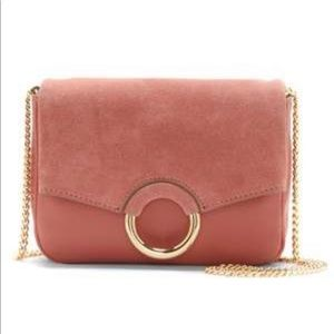 Vince Camuto Adina crossbody bag in vintage rose